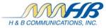 H & B Communications logo