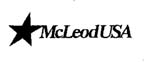 McLeodUSA Telecommunications Services