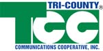 Tri-County Communications Cooperative logo
