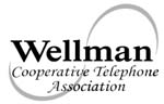 Wellman Cooperative Telephone Association logo