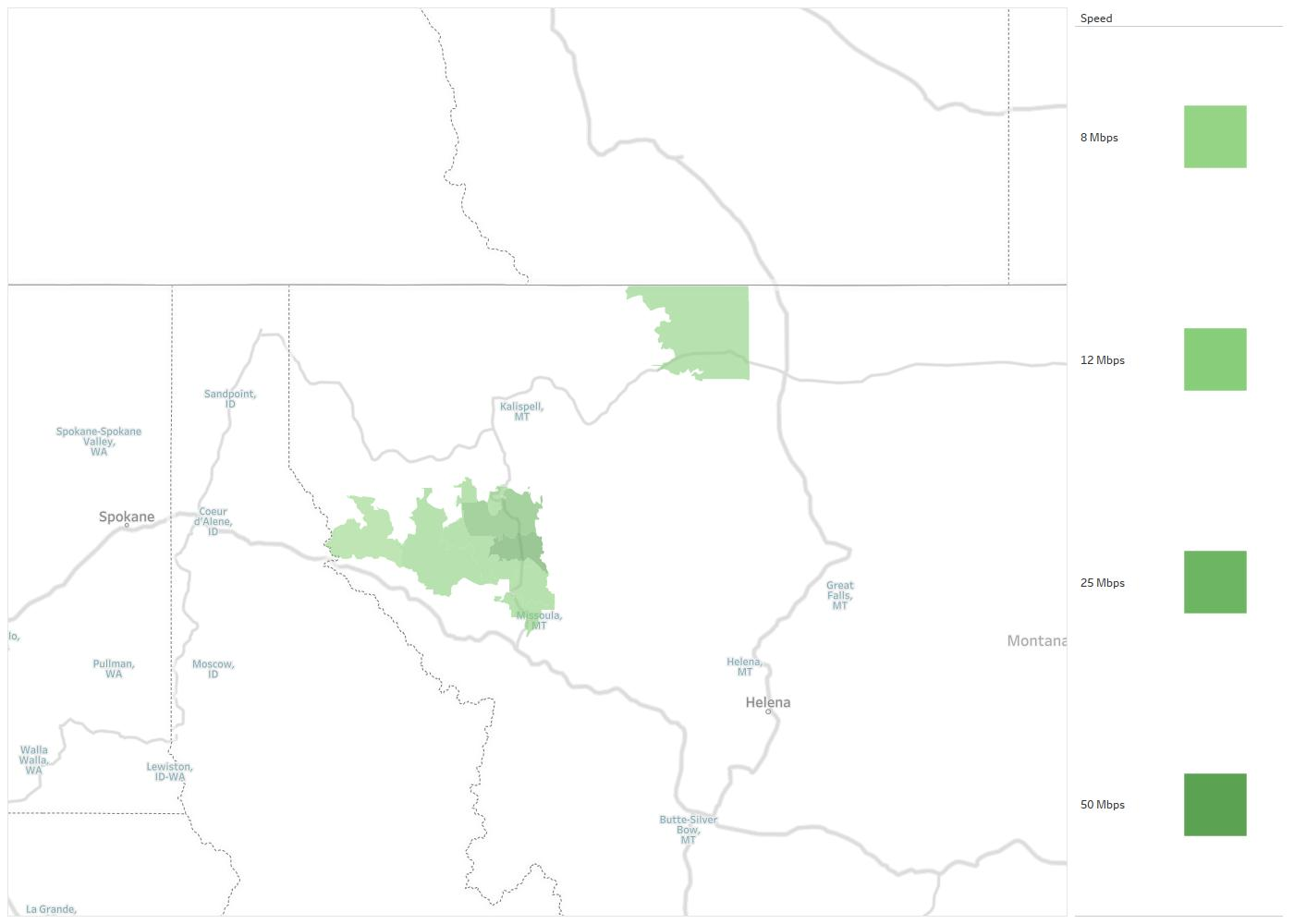 Access Montana Availability Areas Coverage Map Decision Data