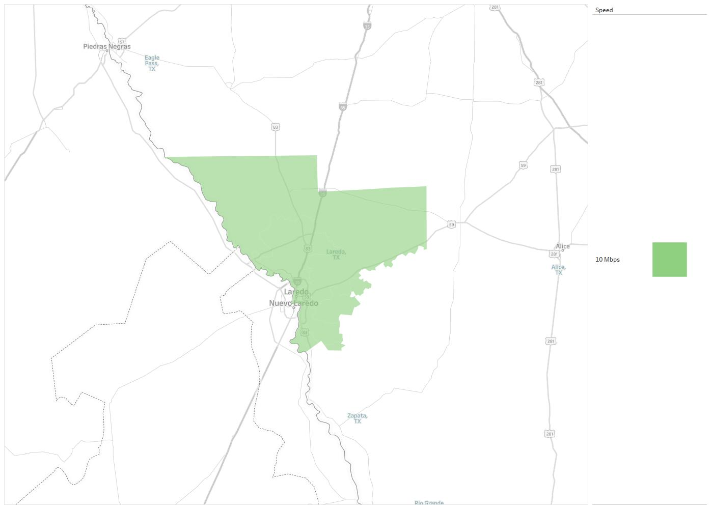 Map Of Texas Showing Laredo.Autophone Of Laredo Availability Areas Coverage Map Decision Data