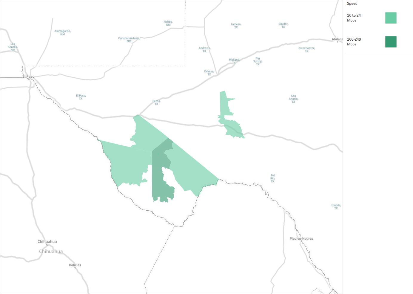 Big Bend Telephone Association Availability Areas Coverage Map
