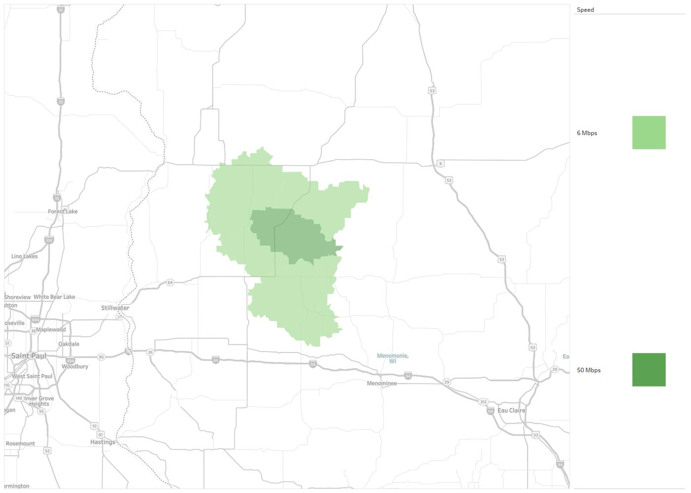 Clear Lake Telephone Company Availability Areas & Coverage Map ... on