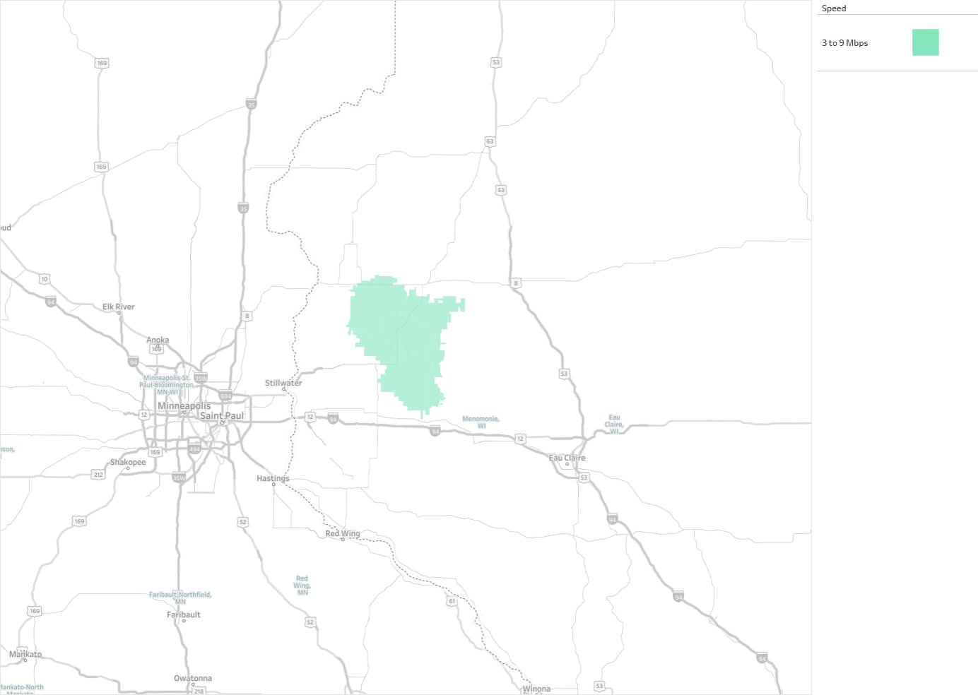 Clear Lake Telephone Company Availability Areas Coverage Map - Us internet coverage map minneapolis
