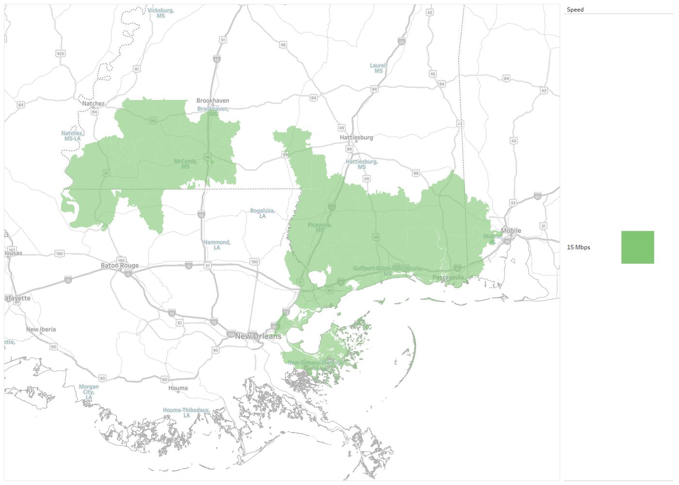 DSL ByAir Availability Areas & Coverage Map | Decision Data on