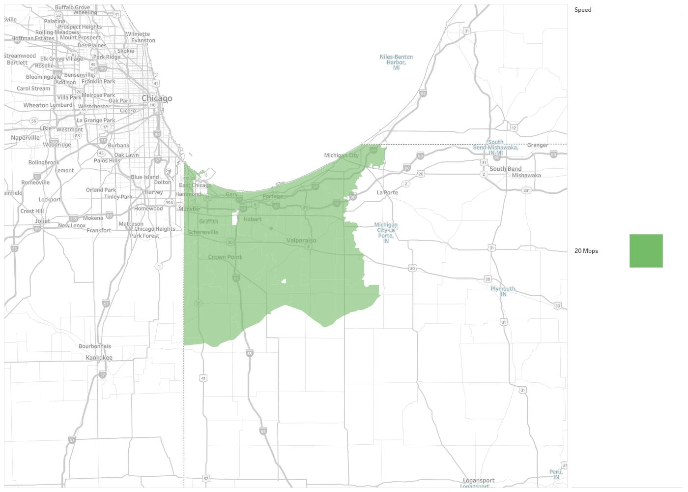 Hoffman Estates Zip Code Map.Midwest Telecom Of America Availability Areas Coverage Map