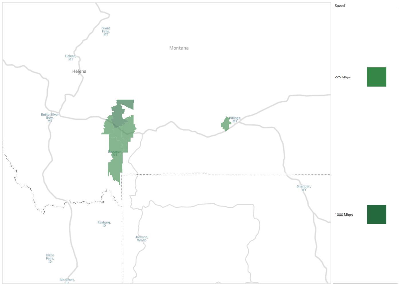Montana Opticom Availability Areas & Coverage Map | Decision Data
