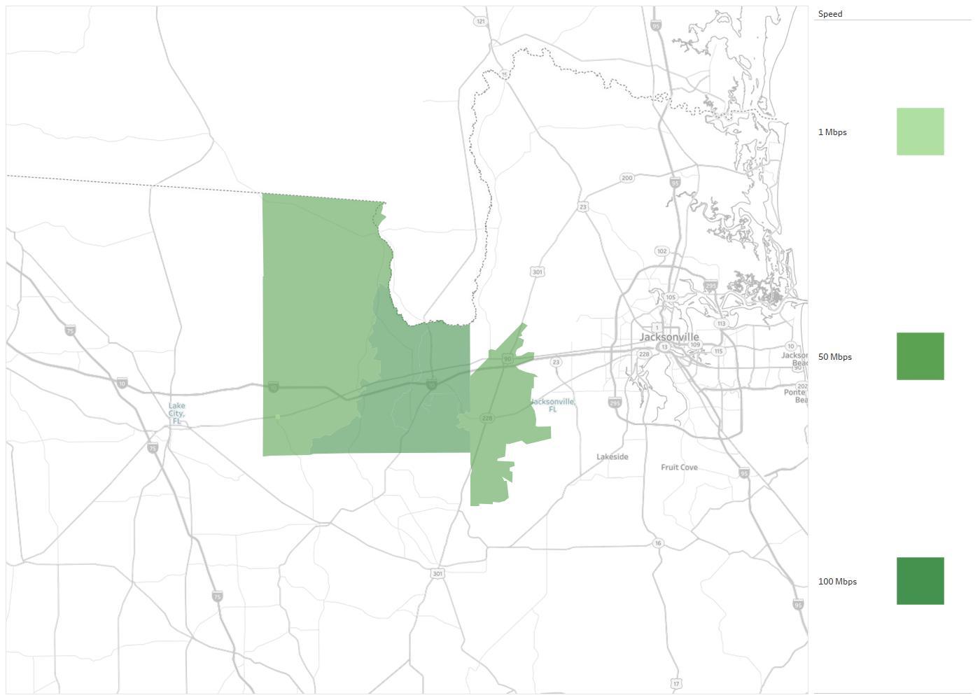 Map Northeast Florida.Northeast Florida Telephone Co Availability Areas Coverage