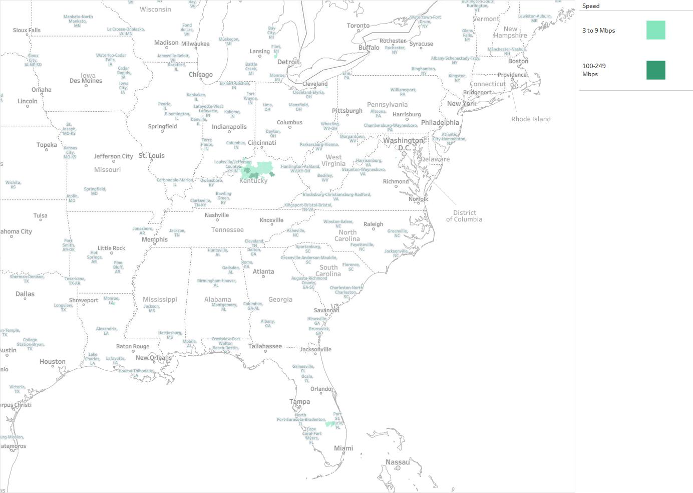 Shelby Broadband Availability Areas & Coverage Map ...