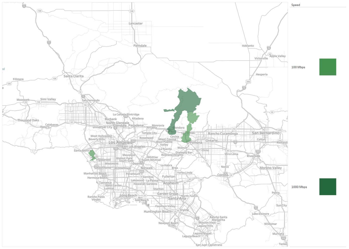 Southern California Edison Company Availability Areas & Coverage Map ...