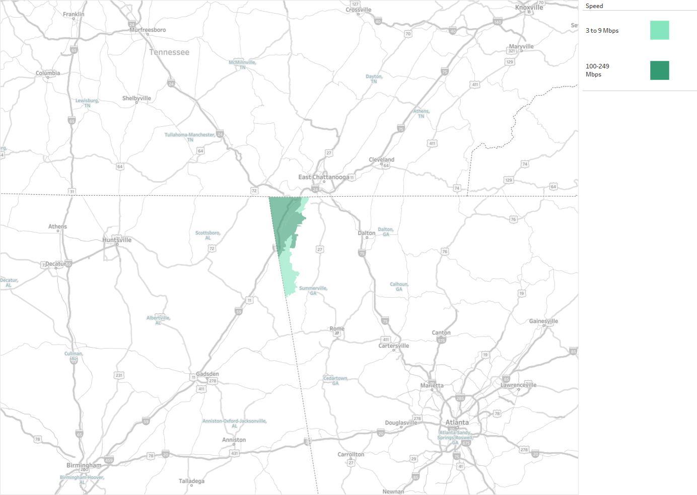 Trenton Telephone Company Availability Areas Coverage Map