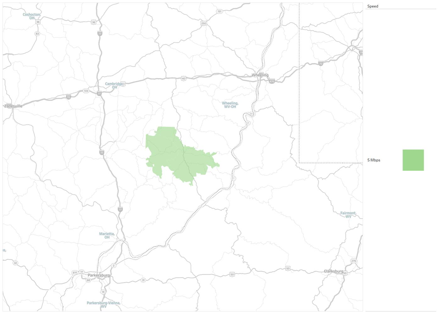 Woodsfield Ohio Map.Woodsfield Municipal Cable Availability Areas Coverage Map