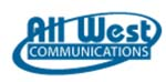 All West Communications logo